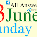 Telenor Quiz Today | 13 June 2021 | My Telenor App Today Questions and Answers | Test your Skills