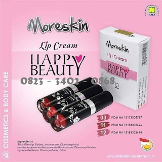 AGEN MORESKIN LIP CREAM NASA DI SUMENEP 082334020868