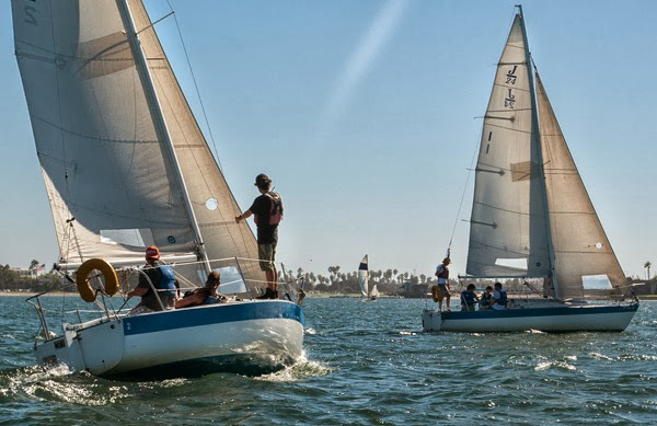 Basic Keelboat Sailing Class