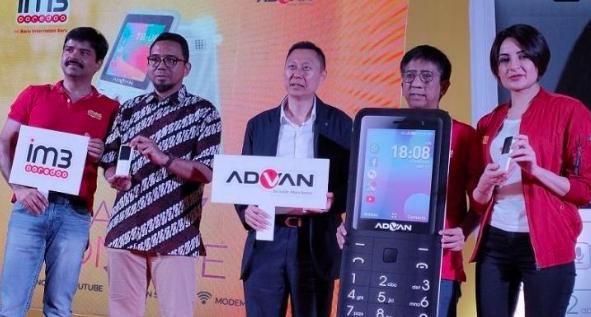 Ponsel Kerjasama Advan dan Indosat Ooredoo