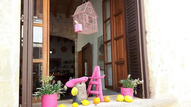 nettes Café in Alcudia