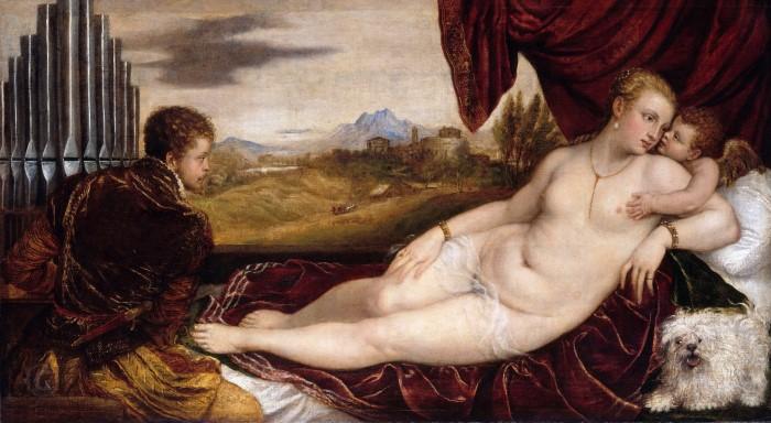 Venus with the Organ Player