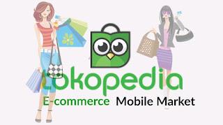 Tentang situs ecommerce mobile market tokopedia