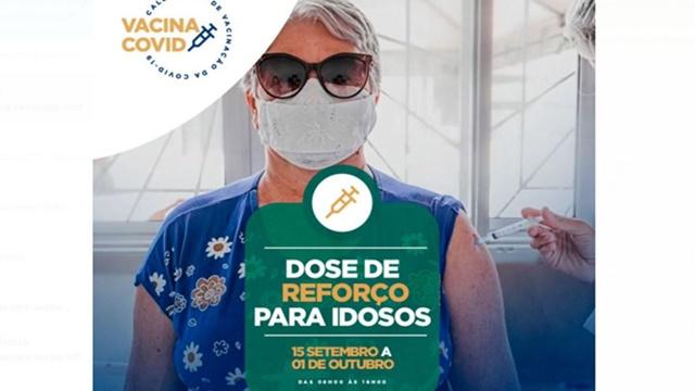 Vacina covid Patos inicia vacinação com dose de reforço para idosos na quarta (15)