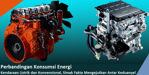 perbandingan konsumsi energi