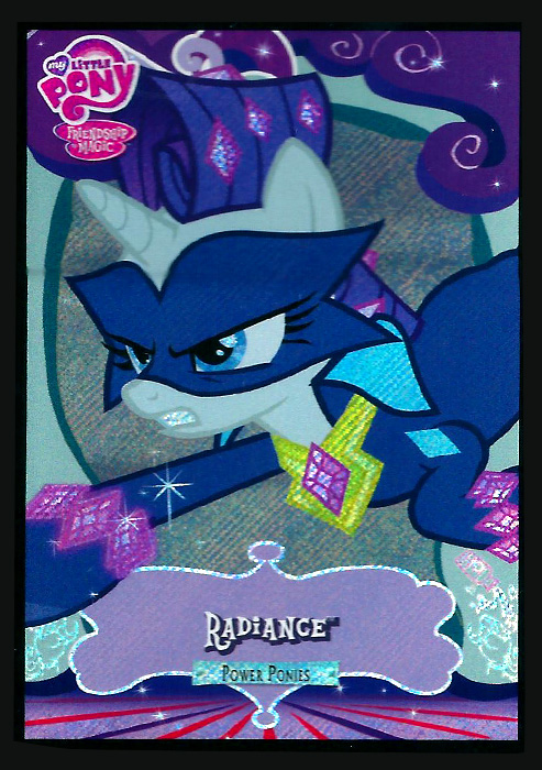 Mlp Power Ponies Trading Cards Mlp Merch
