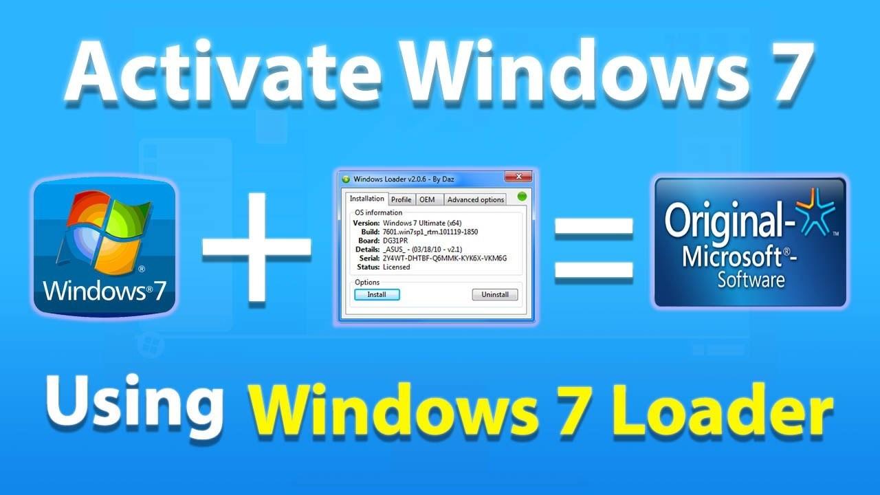 windows build 7601 activation key
