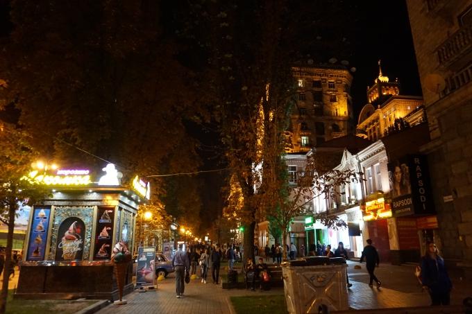 Kokemuksia Kiovasta - mitä tehdä ja minne mennä? Kiovan pääkatu ja maidan