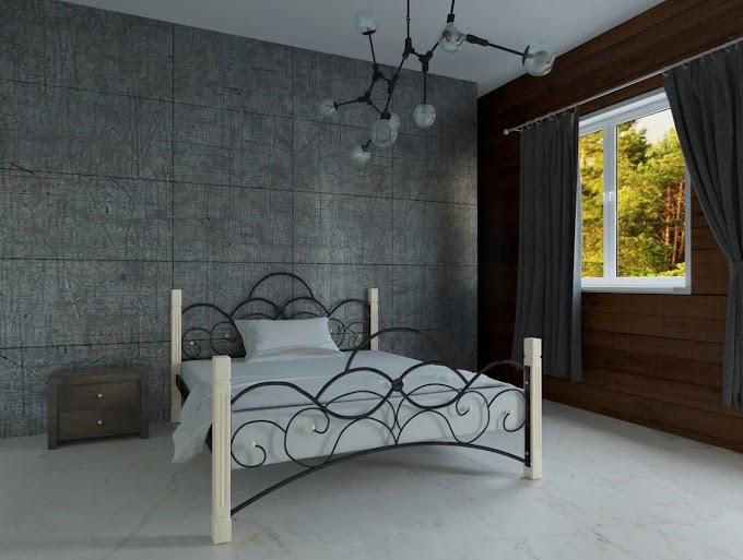 Кровать металлическая Роксолана 120х190/200 ТМ Мадера