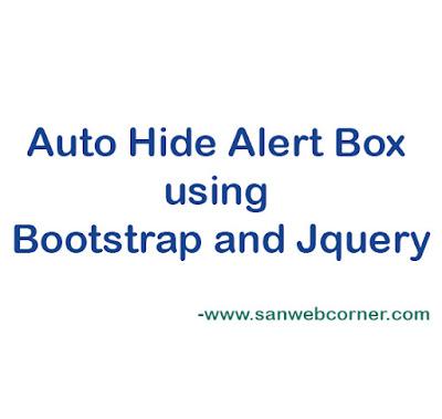 auto-hide-alert-box