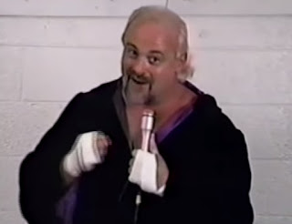 Smoky Mountain Wrestling - Kevin Sullivan threatened to stab The Bullet