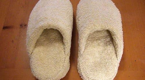 Perfect bath slippers