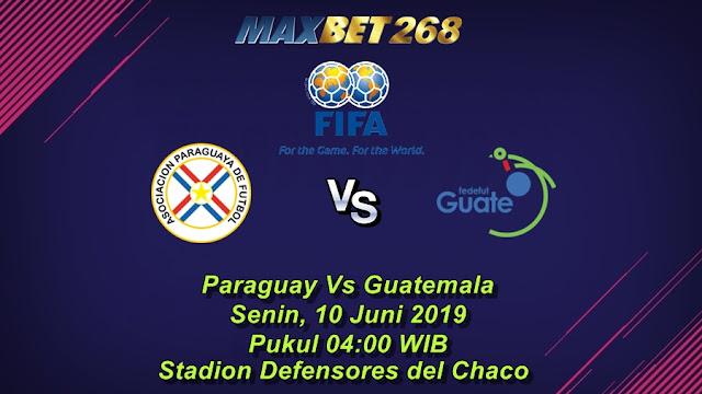 Prediksi Paraguay Vs Guatemala, Senin 10 Juni 2019 Pukul 04.00 WIB