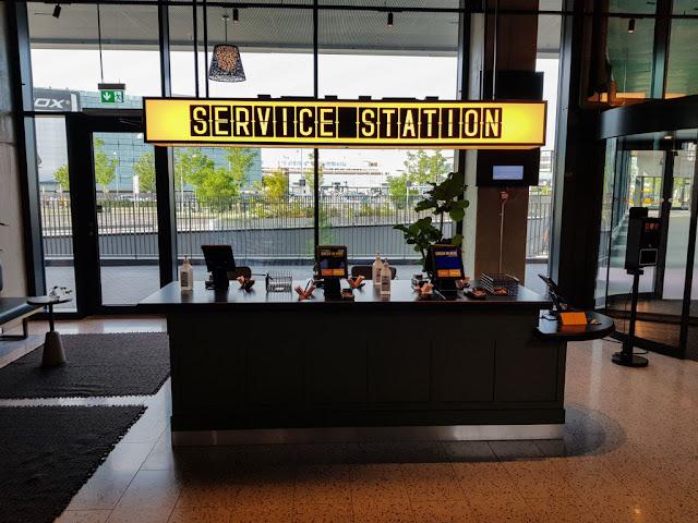 Comfort hotel Copenhagen airport-Service station