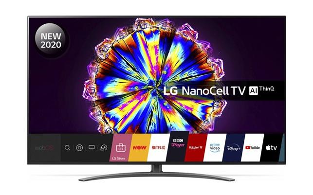 LG 65NANO916NA: Smart TV 4K de 65'' con tecnología NanoCell, HDR Dolby Vision IQ y webOS 5.0