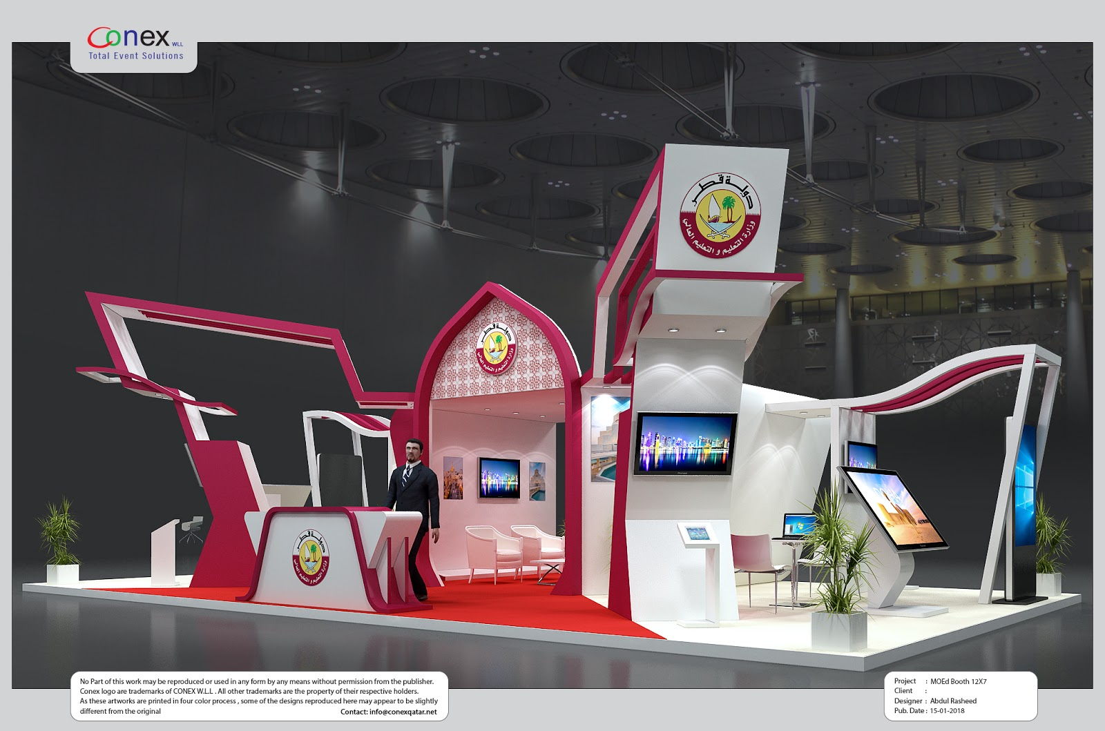 Exhibition Stand Interiors : D designer visualizer events exhibitions interiors