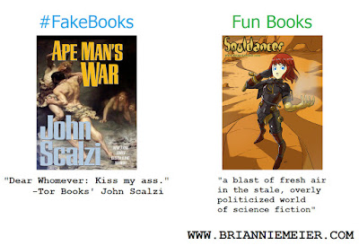 #FakeBooks vs. Fun Books