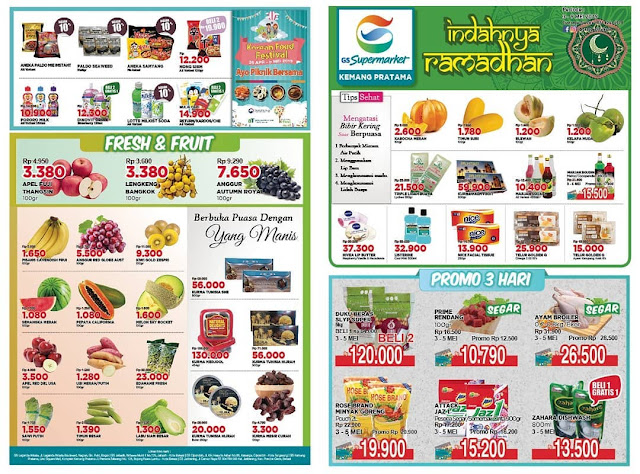 #GSSupermarket - #Promo #Katalog Weekend Periode 03 - 09 Mei 2019