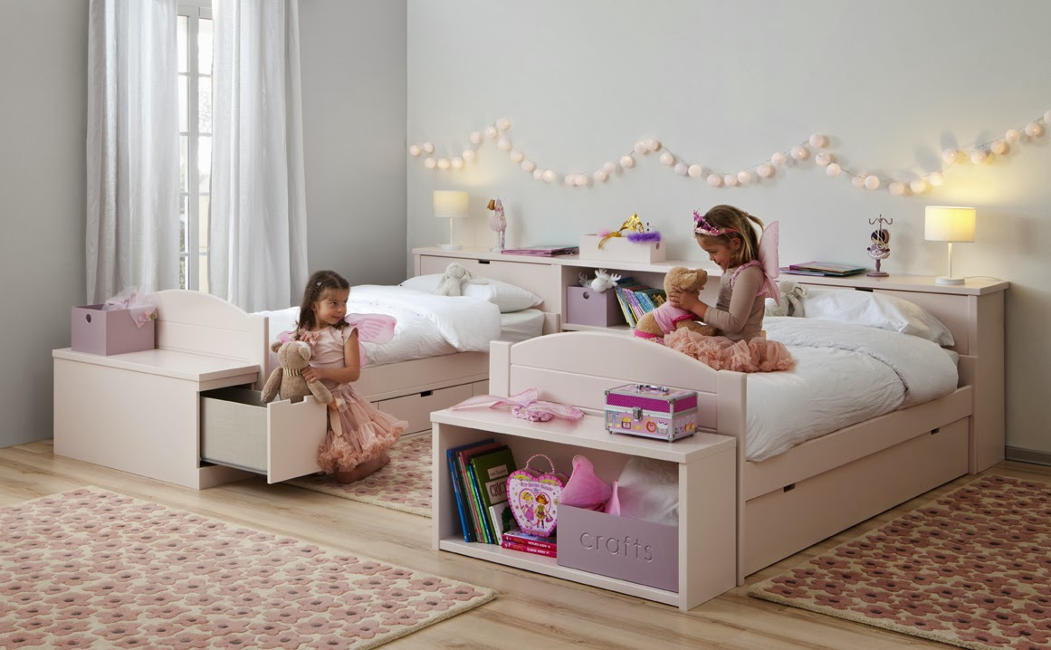 Decorar Dormitorio Nia Beautiful Dormitorio Infantil Mixto  ~ Habitaciones Dobles Para  Ninos