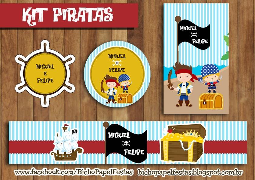 Kit Festa Piratas