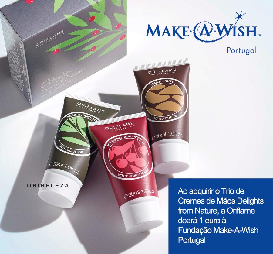 Mime as suas Mãos com o melhor da Natureza e ajude a Fundação Make-A-Wish