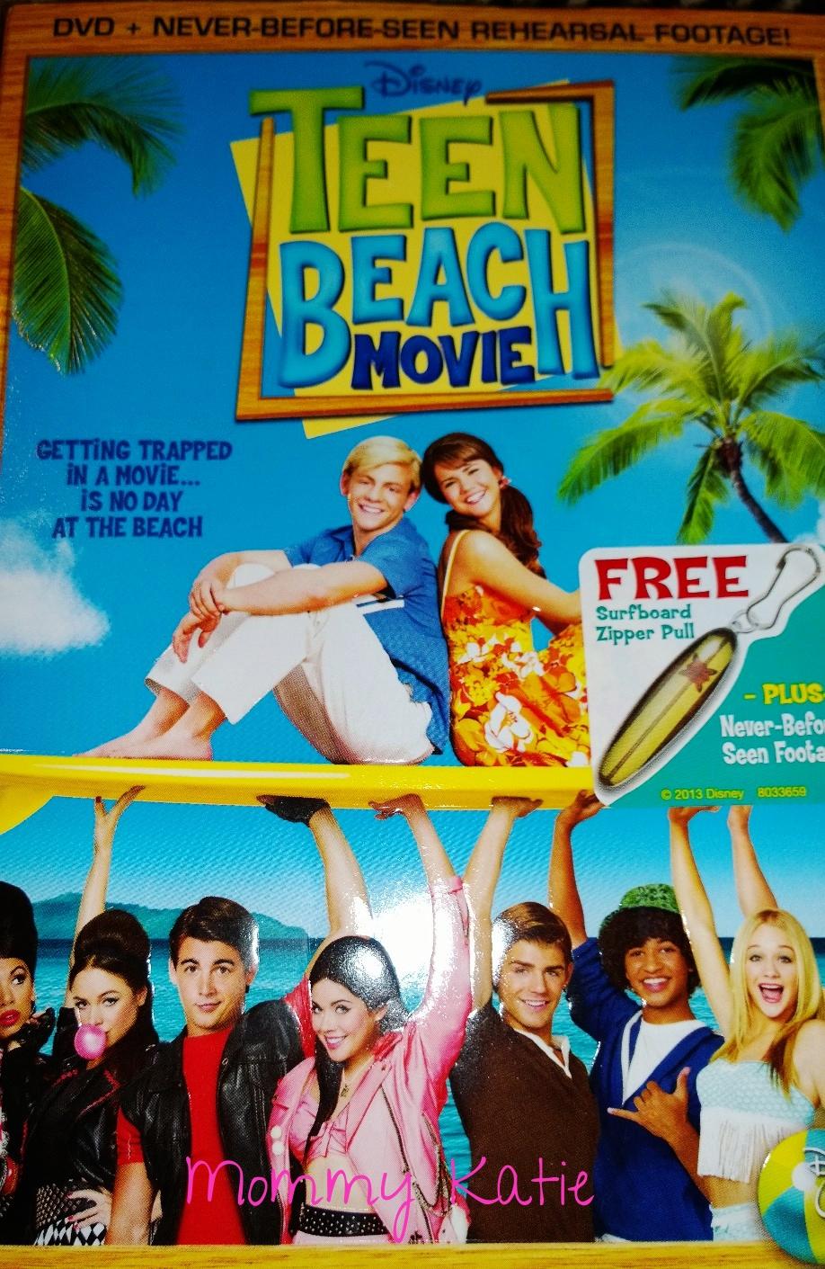 Teen Beach Movie On Dvd Mommy Katie