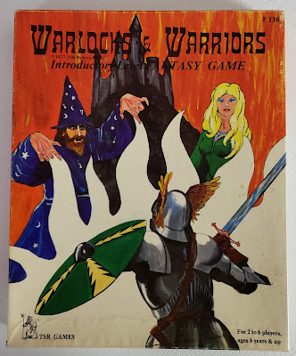 Warlocks & Warriors Box cover