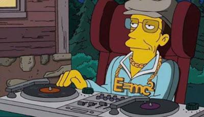 Prediksi kematian Hawking di film The Simpsons.