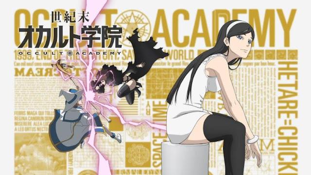 Occult Academy (Seikimatsu Occult Gakuin) - Best Time Travel Anime List