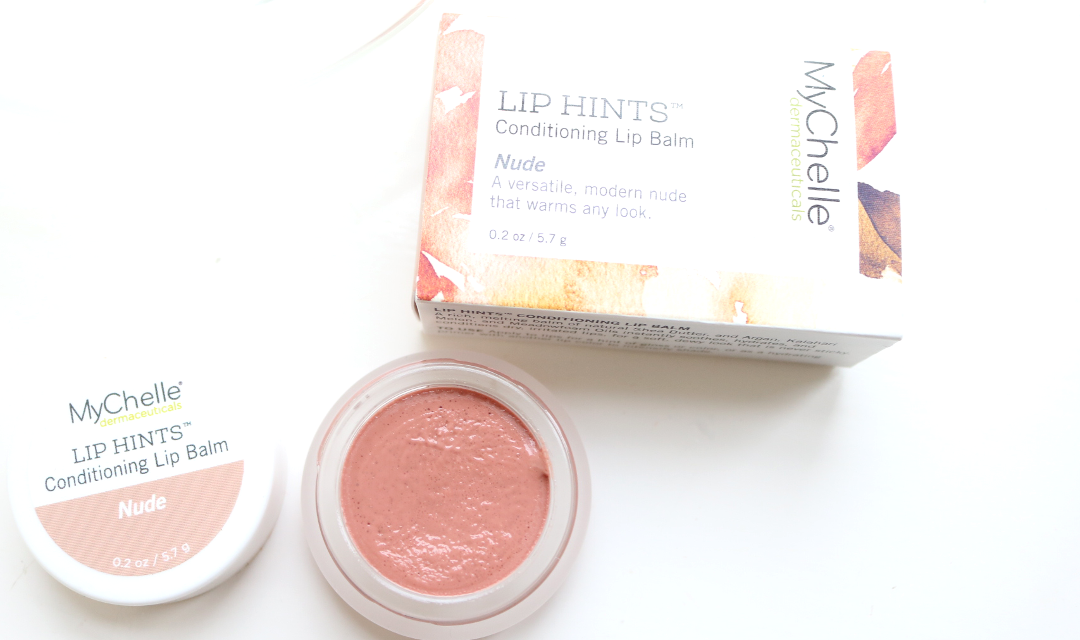 MyChelle Lip Hints Conditioning Lip Balm in Nude
