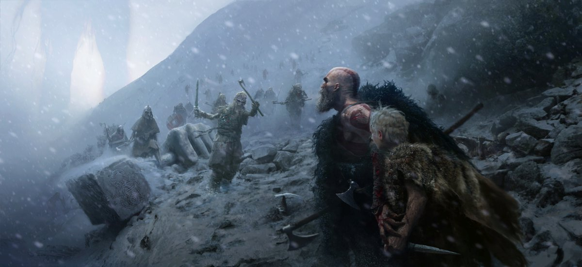 God of War : Sony Releases New Promo Video For The Playstation 4 Game.