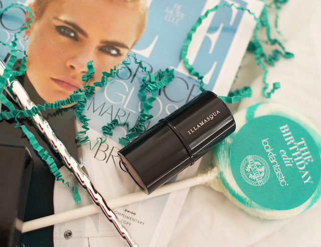 Look Fantastic, LFBEAUTYBOX, lollipop, Illamasqua, Make up, Eyeshadow brush, Elle Magazine