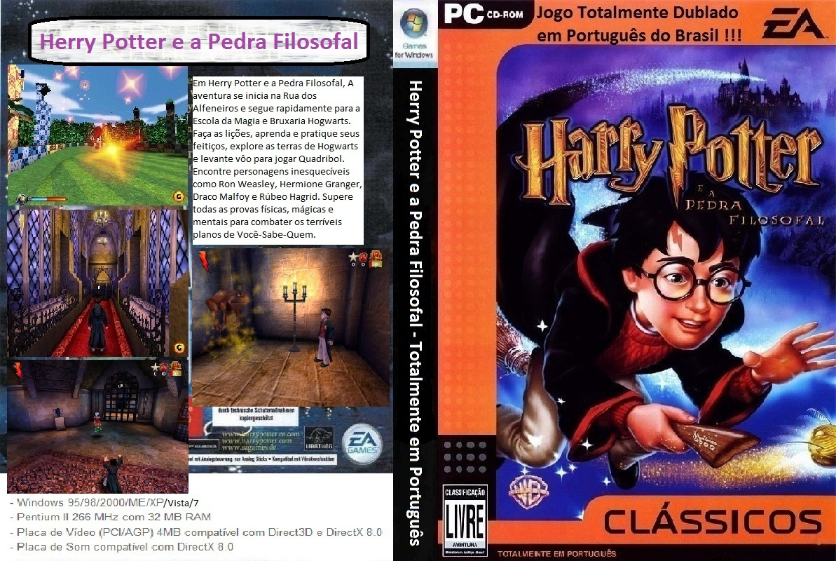 Harry Potter É A Pedra Filosofal regarding gamedowns: harry potter e a pedra filosofal pt-br