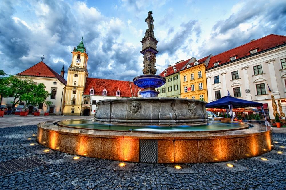 Братислава, Словакия, город