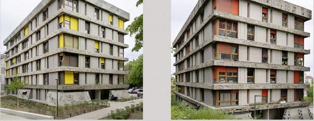 Cité des Bleuets - Créteil - Bossard 1962