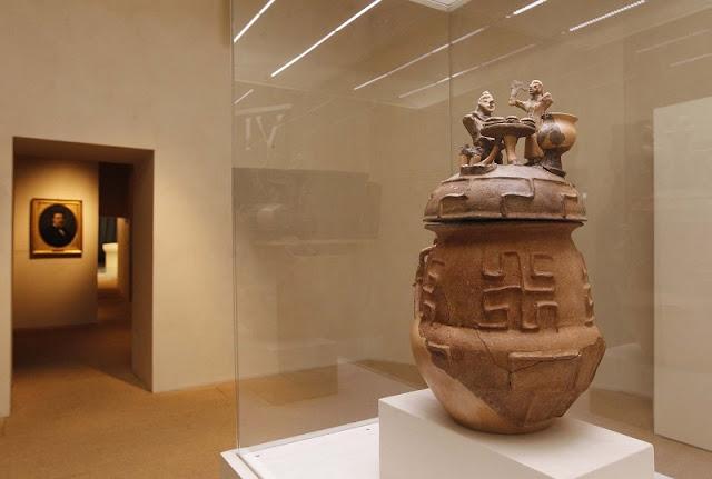 Peça exposta no Museo Archeologico em San Gimignano