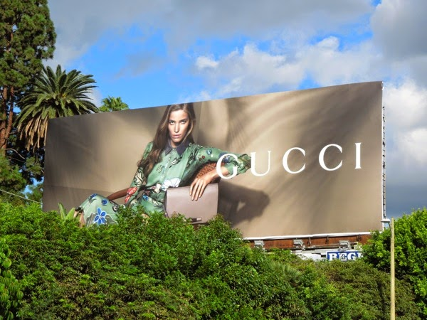 Gucci Cruise 2015 fashion billboard