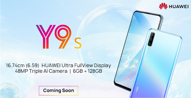 Huawei Y9s launched in India | Smartphone with a 16 MP Pop-up Selfie Camera