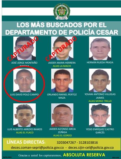 https://www.notasrosas.com/Cae otro de Los Más Buscados en el Cesar