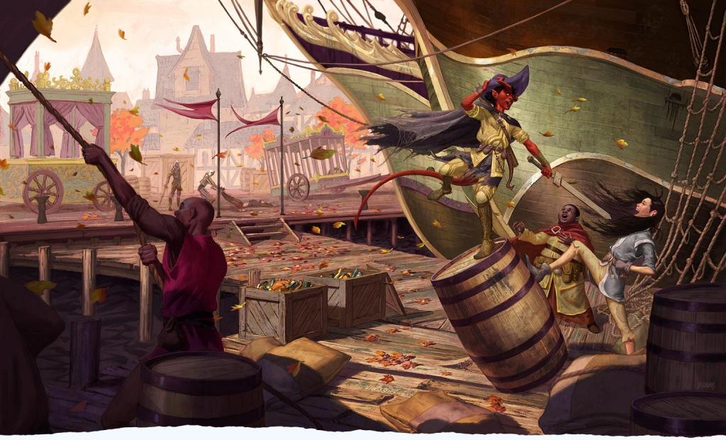 Reseña D&D - Waterdeep: El Golpe de los Dragones - Puerto