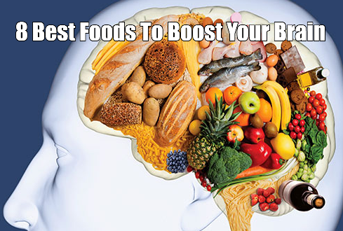8 Foods To Boost Brain Function