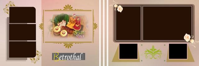 Creative Wedding Album Design 3