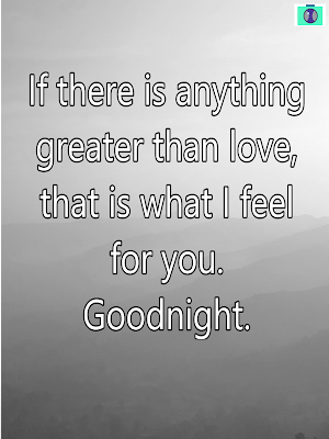Good night messages with love