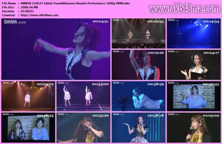 NMB48 210627 Ishida Yuumi&Kawano Nanaho