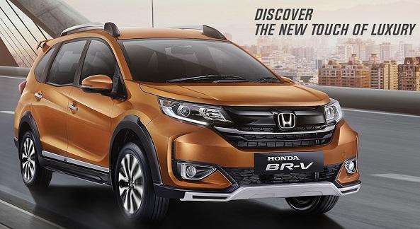 Honda BRV 2021. Màu vàng chanh. Mới 98%