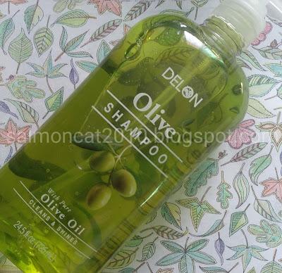 delon olive shampoo