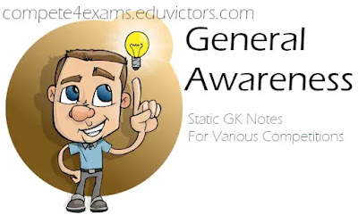 General Awareness: Static GK Notes For Competitions