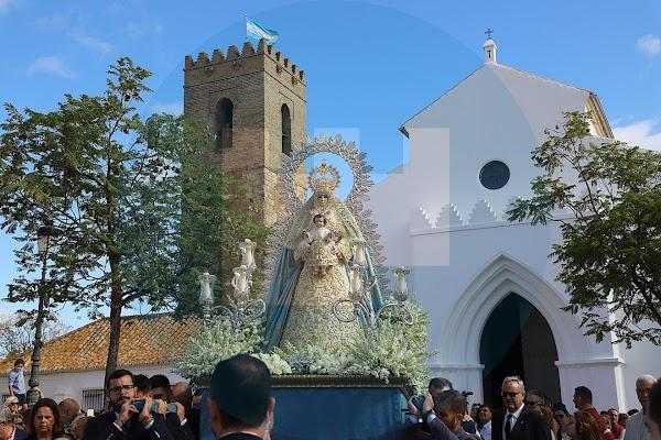 Horario e Itinerario Traslado de la Virgen del Águila. Alcalá la Guadaira (Sevilla) 10 de Noviembre dle 2019