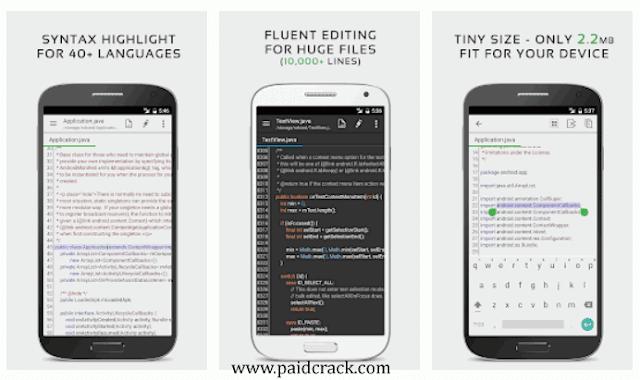 QuickEdit Text Editor Pro APK 2019