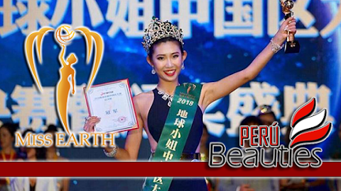 Wentian Hu es Miss Earth China 2019